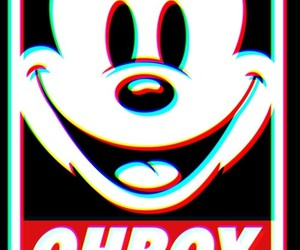 mickey and obey image