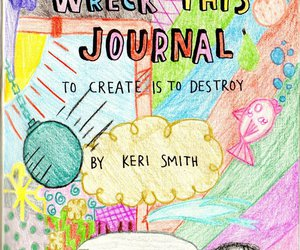 first page, keri smith, and wreck this journal image