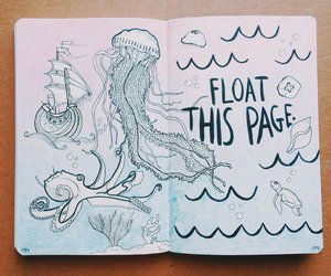 keri smith, wreck this journal, and float this page image