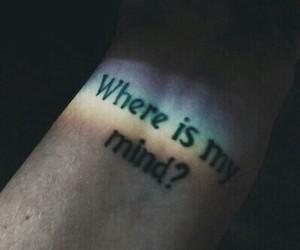 mind, rainbow, and tatto image