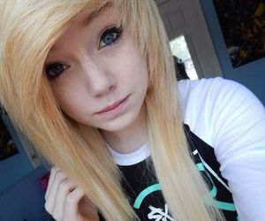 scene, emo, and hair image
