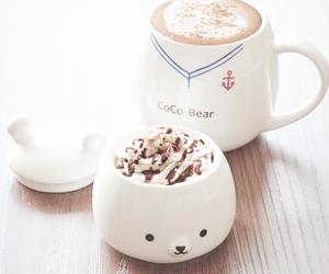 cute, bear, and chocolate image