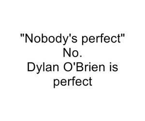 dylan o'brien, perfect, and teen wolf image