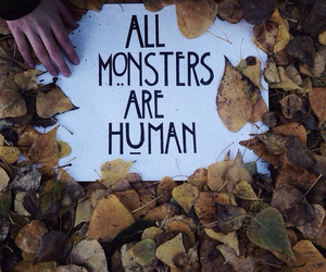 american horror story, ahs, and all monsters are human image