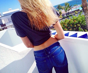 jeans and summer image