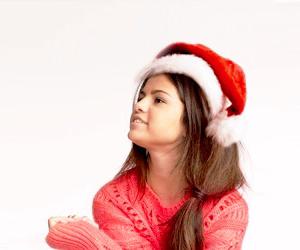 christmas and selena gomez image