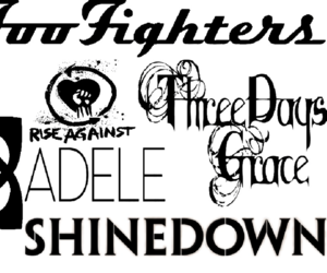 Adele, fighters, and foo image