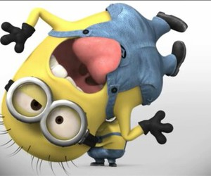 minions, yellow, and funny image