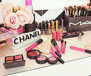 mac, chanel, and makeup image