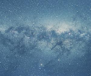 blue sky, galaxy, and infinite image