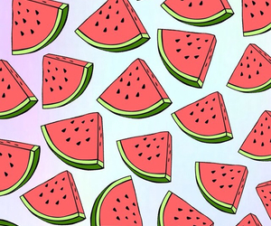 watermelon, background, and wallpaper image