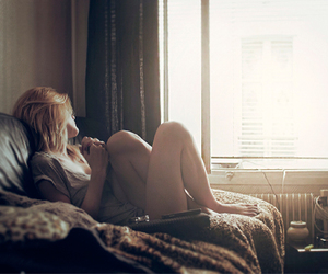 blonde, feet, and girl image