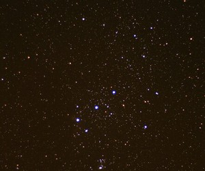 night, orion, and sky image