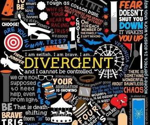 divergent, four, and book image