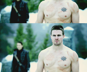 arrow, DC, and handsome image