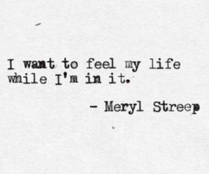 quotes, life, and meryl streep image