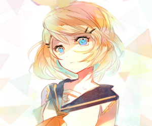 vocaloid, kagamine rin, and rin image