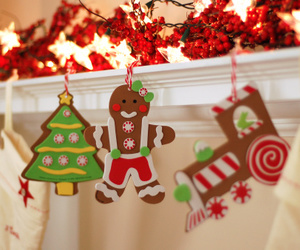 christmas, Cookies, and decoration image