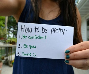 pretty, smile, and confident image