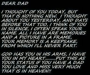 daddy, memories, and grief image