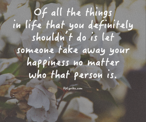 quote, happiness, and life image