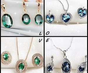 accessories, beauty, and earings image