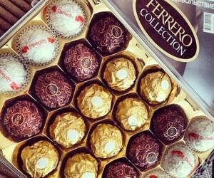 chocolate, delicious, and ferrero image