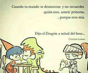 amor, dragon, and frases image