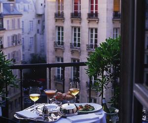 dinner, romantic, and wine image