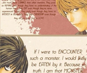 deathnote, L, and light image
