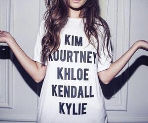 Kendall, kim, and jenner image