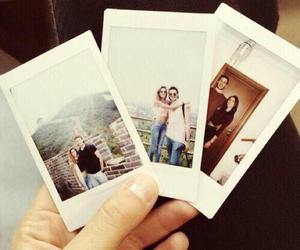 couple, photo, and polaroid image