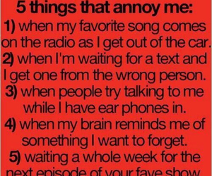 text, annoying, and true image
