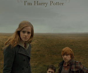 harry potter, deathly hallows, and hermione image