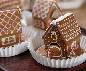 christmas, food, and house image