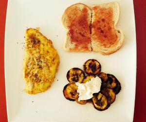 breakfast, toast, and easy food image