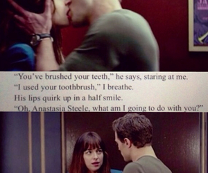 elevator, fifty shades, and christian grey image