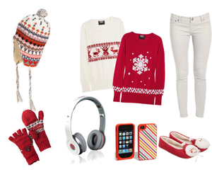 christmas, clothing, and collection image