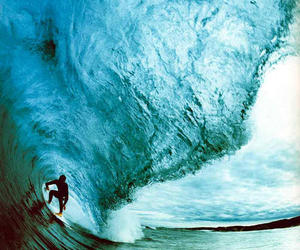 waves, surf, and ocean image