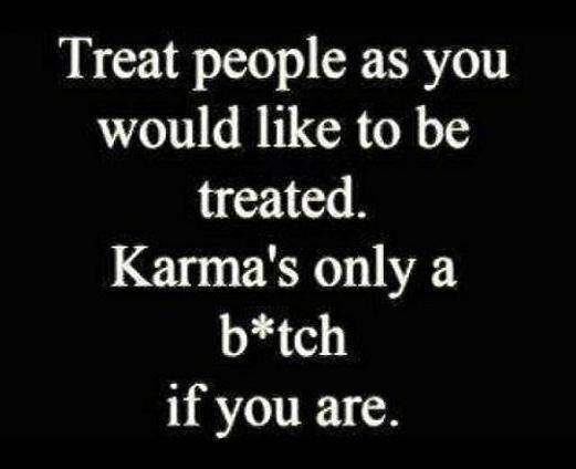 karma and text image