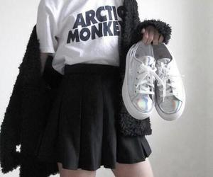 arctic monkeys, grunge, and black image