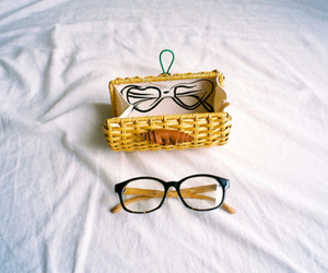 glasses, vintage, and photography image