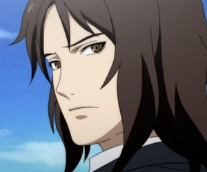 anime, brown hair, and judging you image