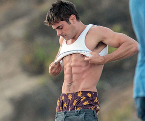 zac efron and abs image