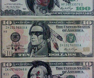 dollar, money, and native american image