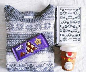 chocolate, winter, and christmas image