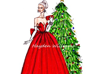 christmas, hayden williams, and drawing image