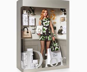 dior, fashion, and doll image