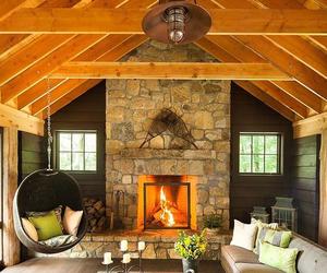 inspiration, inspiring interiors, and modern fireplaces image