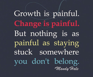 quotes, change, and growth image